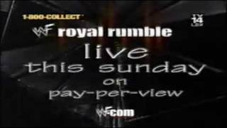WWE Royal Rumble 2000 Bande-annonce VO