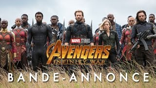 Avengers : Infinity War Bande-annonce (4) VF