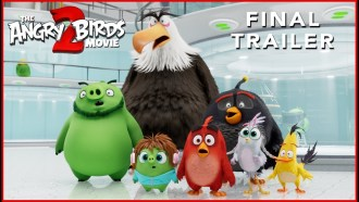 Angry Birds : Copains comme cochons Bande-annonce (4) VO